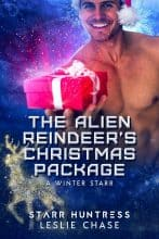 The Alien Reindeer's Christmas Package by Leslie Chase