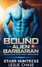 Bound to the Alien Barbarian by Leslie Chase